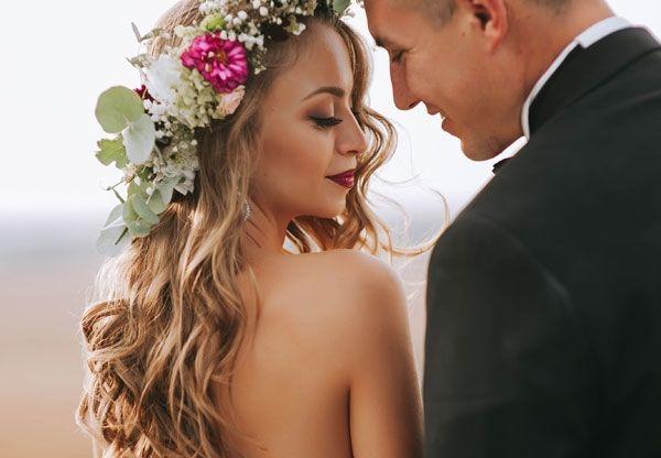 Mobiler Brautstyling, Hochsteckfrisuren  für Ihre Brautfrisur und Braut-Make-up